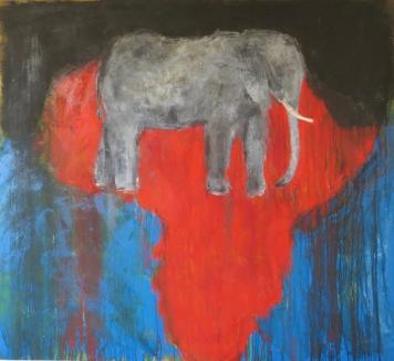 African Elephant, 1989