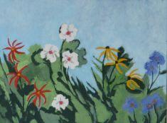 flower garden, 2011
