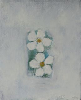 two white anemone, 2001