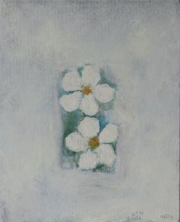 two white anemone, 2001