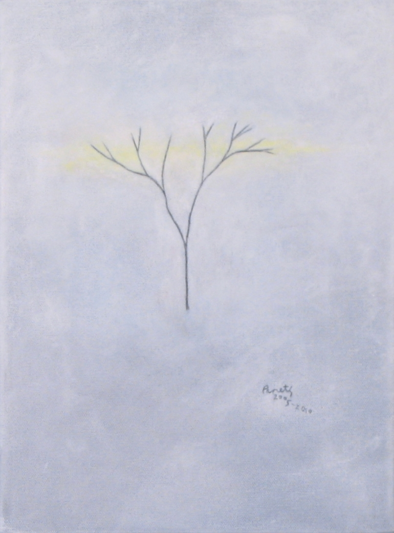 Winter Tree - Yellow